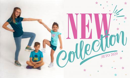 Новая коллекция детской летней одежды